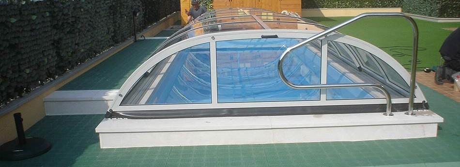 Coperture per piscine - Realizzazione piscine Verona - Piscine interrate - Pi...
