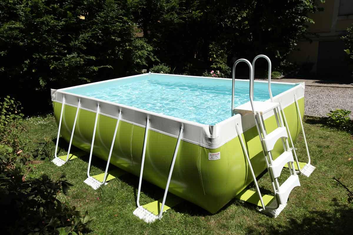 Pop realizzazione piscine verona piscine interrate for Vasca laghetto rettangolare